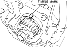 repair guides engine mechanical timing belt and sprockets