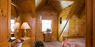 Cabin Floor by Log Homes Log Home Floorplans Hochstetler Milling