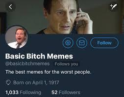 Bitch Memes - basic bitch memes basicbitchmemes twitter