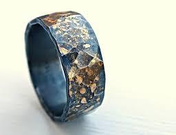 fusion wedding band forged viking wedding band forged wedding ring