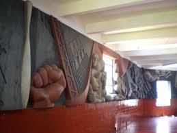 Noguchi Floor L Relief Mural By Isamu Noguchi Picture Of Abelardo L Rodriguez