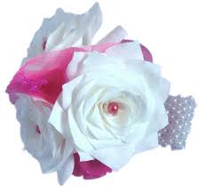 Corsage And Boutonniere For Prom Pink Corsage White Corsage Prom Corsage Fake Flower Corsage