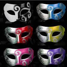 silver mardi gras mask half faces mask mens masks silver black half faces masks