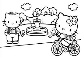 coloriage hello kitty a imprimer de noel