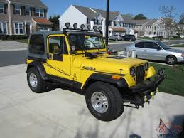 jeep rubicon yellow 1989 jeep wrangler yj 2 5l 4cyl 5 speed