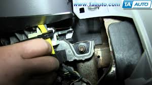 how to install replace ignition switch 1996 06 ford taurus youtube