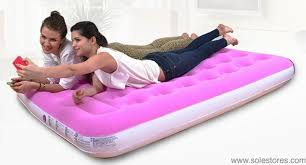 jilong inflatable easigo flocked double air bed mattress