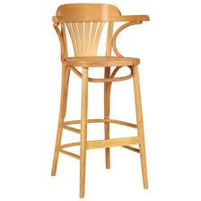 wooden padded kitchen breakfast bar stools wooden frame