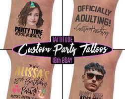 18th birthday party etsy