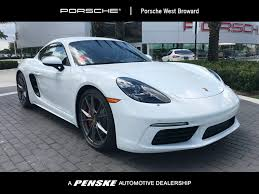 porsche chrome 2018 new porsche 718 cayman s coupe at porsche west broward