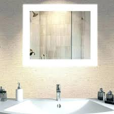 Lighted Vanity Mirrors For Bathroom Wall Mirrors Led Lighted Vanity Mirror Medium Size Of Bathroom