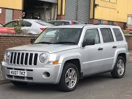 jeep patriot back 2007 jeep patriot 2 0 crd 4x4 diesel vw engine in wollaton