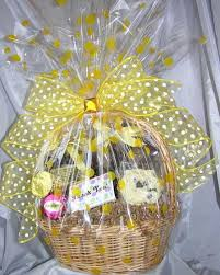 thank you baskets yellow thank you basket hercules candy and chocolate shop