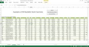 stock report template excel stock quote free excel template excel templates for every purpose
