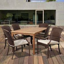 The Home Depot Patio Furniture by Teak Patio Dining Furniture Patio Furniture The Home Depot