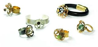 unique metal rings images Unique ring design how to make a cool gold flower ring with jpg