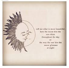 does the sun say what does the moon think about me andrea quote