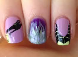 Disney Villains Maleficent Nail Art Tutorial All Done Up