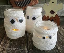 mummy jar luminaries in a jar a