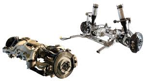 car front suspension on road or off range rover suspension up to the task video
