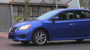 blue nissan sentra 2014 2014 nissan sentra review youtube