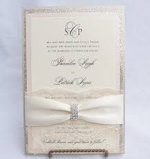 vintage wedding invitations cheap lace wedding invites lace wedding invitations