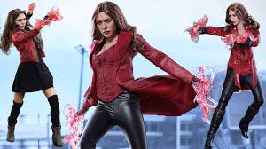 scarlet witch original costume preview of elizabeth olsen as scarlet witch wanda maximoff civil