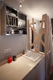 tiny space 129 sq ft transformed into mini apartment with