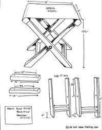 Wood Folding Chair Plans Free by Wood Stool Plans Folding Stool Plans Free Outdoor Plans Diy
