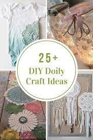 Room Craft Ideas - diy doily craft ideas the idea room