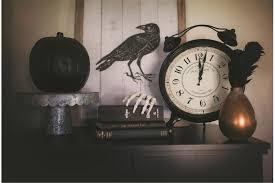 black and white halloween decorating ideas the homespun hostess
