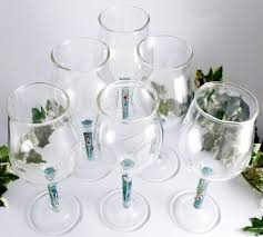 Hand Blown Wine Glasses by Wine Glasses And Flowers A Flame With Desire