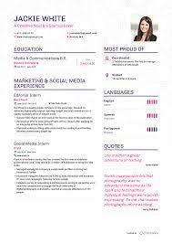 It Internship Resume Bu Resume Resume For Your Job Application
