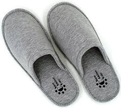 bedroom slippers for men sunnycode men s cotton house washable slippers with travel bag l