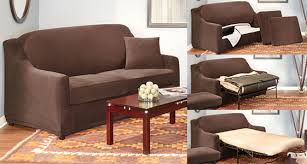 Sure Fit 3 Piece Sofa Slipcover by 4 Piece Sleeper Sofa Cover Memsaheb Net