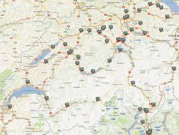Austria Map Lpg In Austria And Switzerland Alpinegas Gazeo Com