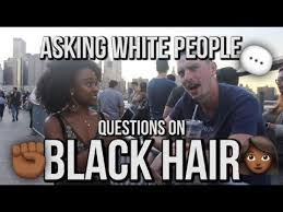 Black Hair Meme - asking white people questions about black hair youtube