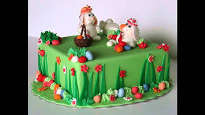 simple easter cake decorating ideas youtube