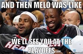 Melo Memes - lebron and melo meme