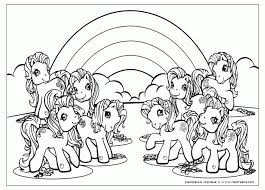 Little Pony Coloring Pages Friendship Magic Gallery Gorgeous Pony Coloring Pages
