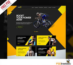 sports shop website multipurpose free psd template psdfreebies com