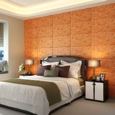 Schlafzimmer Deko Orange Marmor 3d Aufkleber Klebeband Tv Hintergrund Wand Wohnzimmer