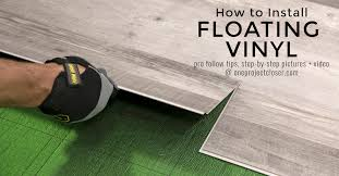 can you put cabinets on a floating vinyl floor how to install floating vinyl flooring