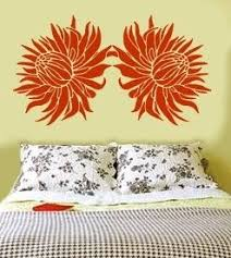 Floral Wall Stencils For Bedrooms 14 Best Protea Decor Ideas Images On Pinterest Protea Flower