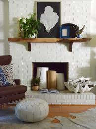 15 gorgeous painted brick fireplaces hgtvs decorating design