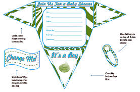printable baby shower invitations boy baby shower invitations printable shaped invites