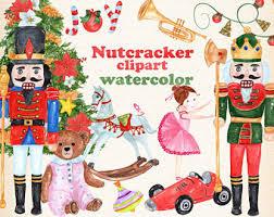 watercolor christmas etsy
