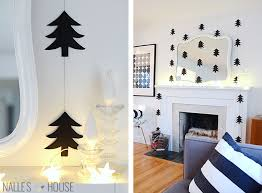 nalle u0027s house diy modern paper tree garlands