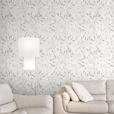 papier peint castorama chambre papier peint intisse alkane gris leroy peindre murs castorama