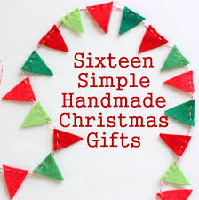 Homemade Xmas Gifts by 16 Simple Handmade Christmas Gift Tutorials Diary Of A Quilter